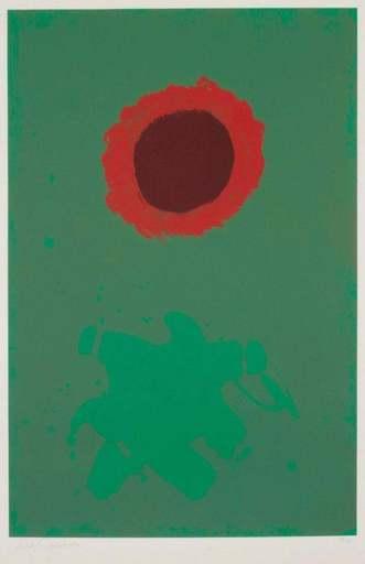 Adolph GOTTLIEB - Druckgrafik-Multiple - Chrome Green