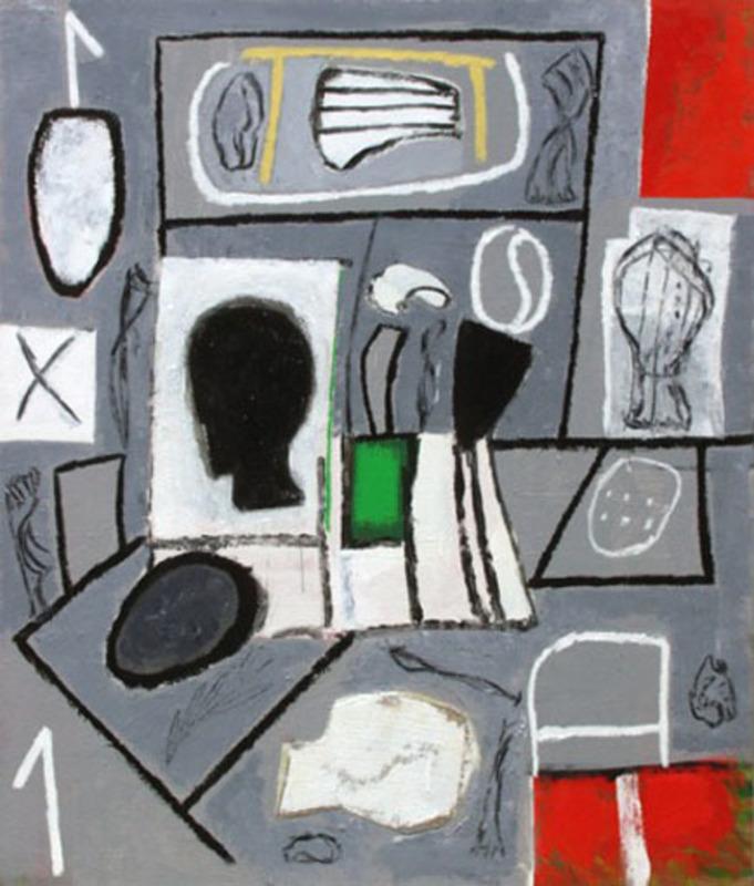 Mimmo PALADINO - Painting - Niente da capire