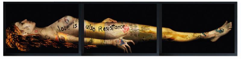 Yves HAYAT - Estampe-Multiple - MARIE MADELEINE MORTE (Art is also resistance) 4/6