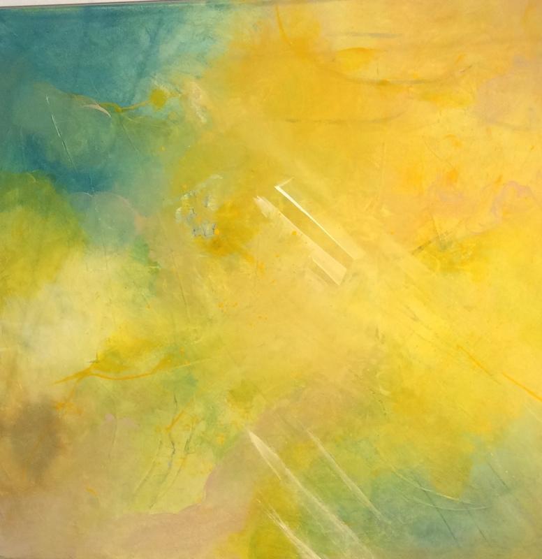 Denise JENSEN - Peinture - SANS TITRE