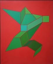 Achille PERILLI - Peinture - L'ANTONEIDE