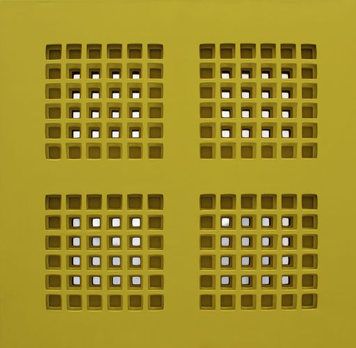 Vanna NICOLOTTI - Pintura - mandala giallo