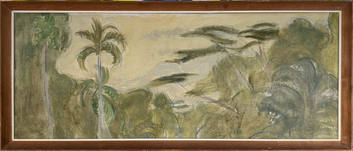 Theo MEIER - Gemälde - Balinesische Landschaft