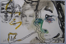 Raymond MORETTI - Estampe-Multiple - 4 LITHOGRAPHIE RIMBAUD SIGNÉE CRAYON 4 HANDSIGNED LITHOGRAPH
