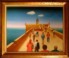 Fred ZELLER - Pittura - Le Vieux Donjon