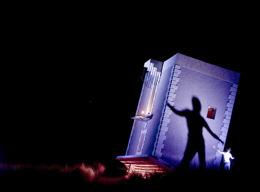 Jean-François FOURTOU - Photography - Sans titre (extérieur de nuit)