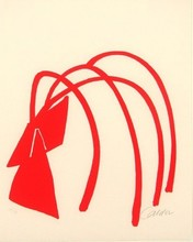 Alexander CALDER - Print-Multiple - Four Arches