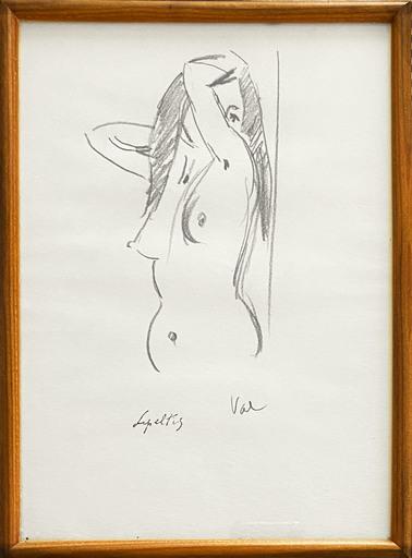 Robert LEPELTIER - Drawing-Watercolor - Val
