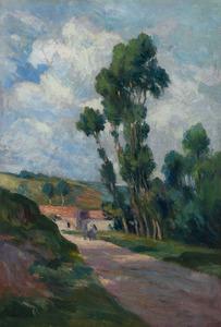 Maximilien LUCE - Gemälde - Paysage à Moulineux