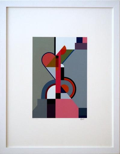 Walter DEXEL - Grabado - Komposition