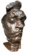 """Émile Antoine BOURDELLE (1861-1929) - """"Grande Masque Tragique"""""""