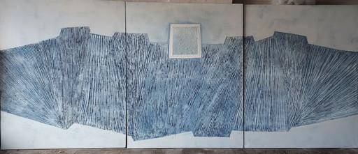 Jean-Marie LEDANNOIS - Peinture - Triptyque