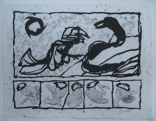 Pierre ALECHINSKY - Grabado - Lettre de creance I