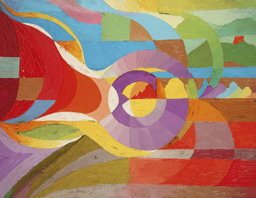 Henry VALENSI - Pintura - Etude pour L'Altruiste