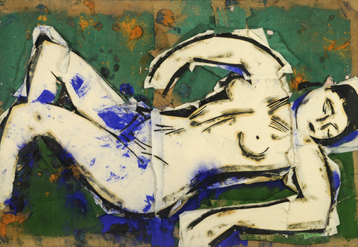 Manolo VALDÉS - Painting - Desnudo I