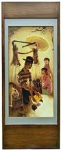LEE Man Fong - Pintura - MADURESE SATAY VENDOR