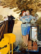 Rosa LOY - Painting - Nachricht