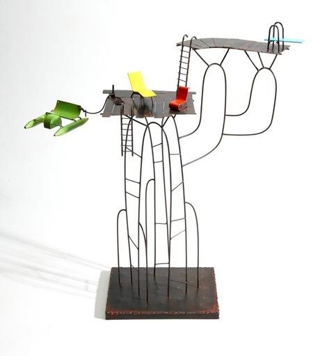 Frédéric LAVAUD - Escultura - Le cactus