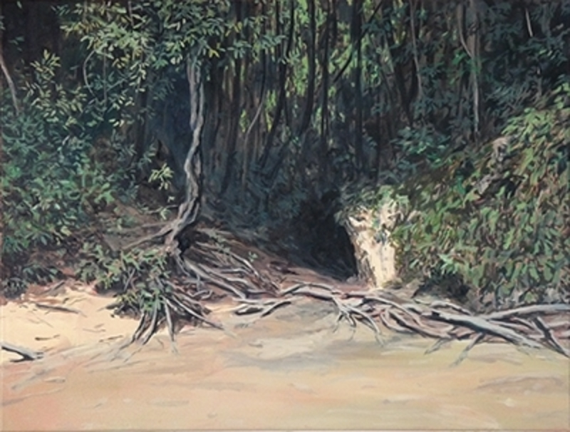 Bruno GADENNE - Pintura - Le passage II