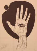 Félix LABISSE - Estampe-Multiple - Untitled