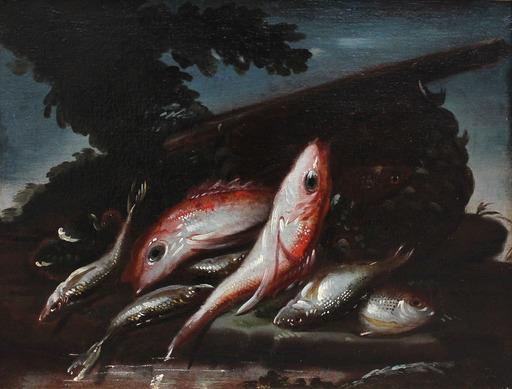Elena RECCO - Painting - Natura morta di pesci