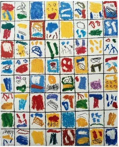 Sergi BARNILS - Painting - DEIS DIES PROVIDENCIALES 2000