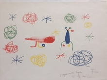 Joan MIRO - Print-Multiple - L'oiseau rouge
