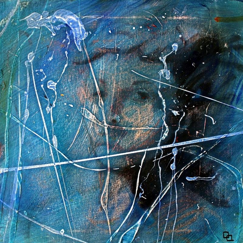 Fabien BOUGUENNEC - Peinture - BLUE
