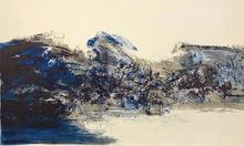 ZAO Wou-Ki - Grabado - From - A la gloire de l'image et art poétique (plate 14)