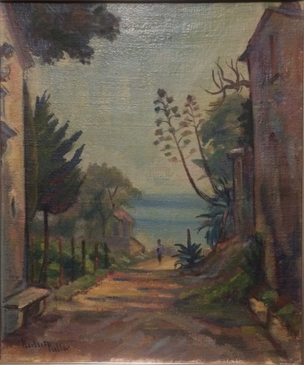 Herbert KELLER - Peinture - Presso la capella Livori