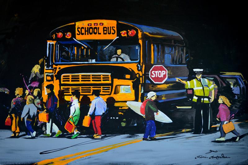 Rémi BERTOCHE - Gemälde - Rebel Boy