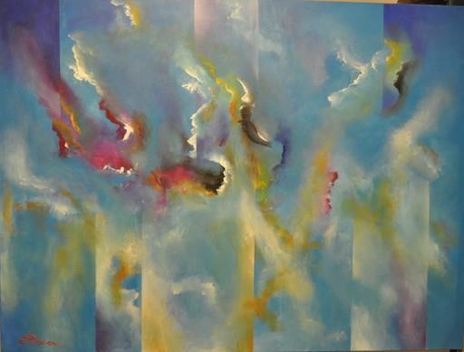 Romeo DOBROTA - Painting - First Rhapsody,