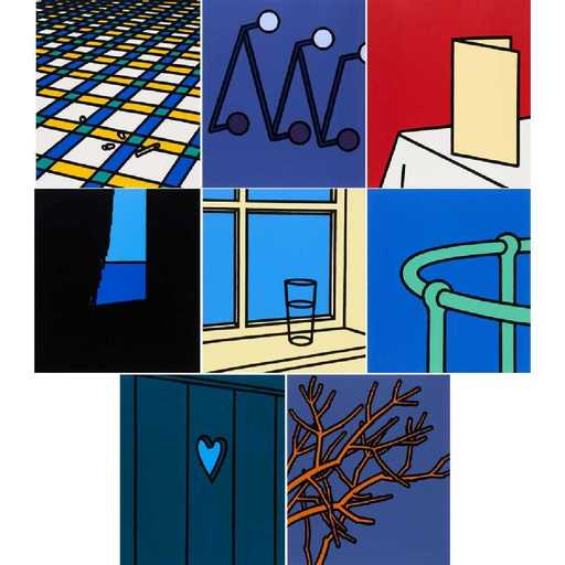 Patrick CAULFIELD - Stampa-Multiplo - Some Poems of Jules Laforgue