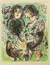 Marc CHAGALL - Print-Multiple -  The Appointment   Le Rendez-vous