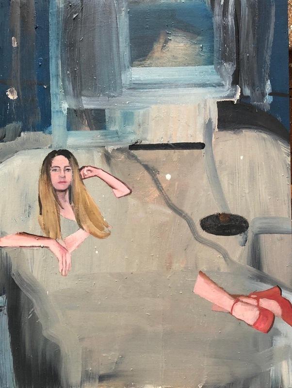 Daniele GALLIANO - Pittura - Non mi ricordo come ti chiami
