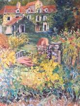 Anne DE LARMINAT - Painting - L'Ile Verte