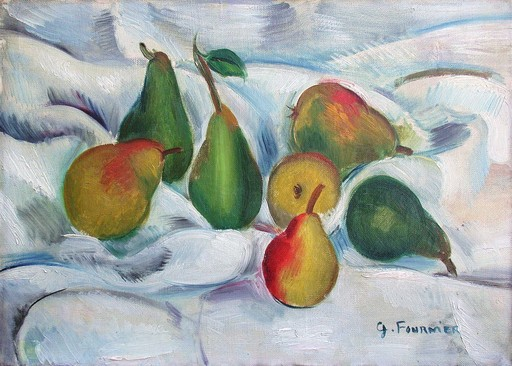 Gabriel FOURNIER - Pintura - Sept poires