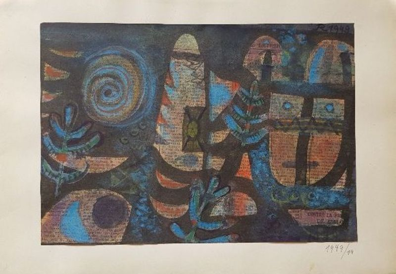 Hans REICHEL - Dessin-Aquarelle - Oriental