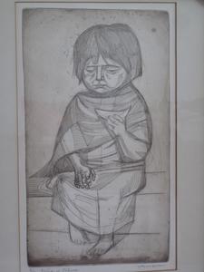 Irving AMEN - Druckgrafik-Multiple - Nina de Toluca