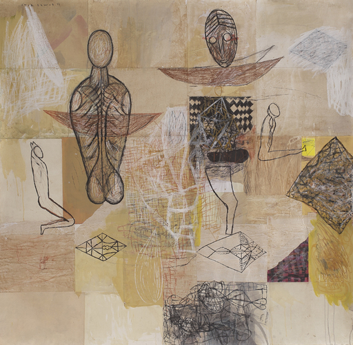 Amar DAWOD - Pintura - The Ta-sin of Understanding II