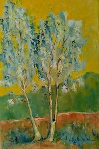 Ewa WITKOWSKA - Painting - Birch