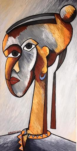 Philippe ARVIN - Peinture - Ethiopien
