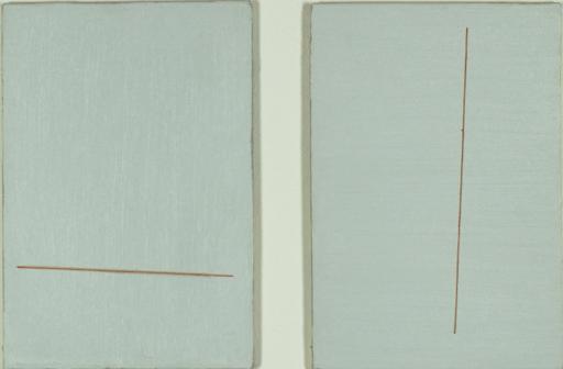 Lucio POZZI - Pittura - Untitled (A Z Double Series)
