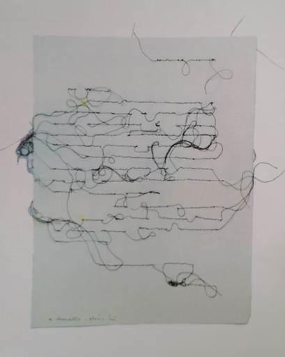 Maria LAI - Dibujo Acuarela - PAGINA SCRITTA