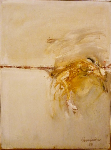 Ahmed SHAHABUDDIN - Pintura - Sauté n°2