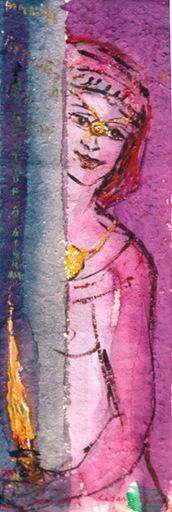 César OTERO - Pintura - MARIA LA PORTUGUESA