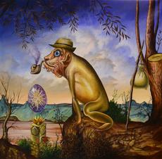 Carlos SABLÓN - Gemälde - L'Idol