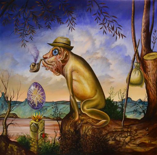 Carlos SABLÓN - Peinture - L'Idole