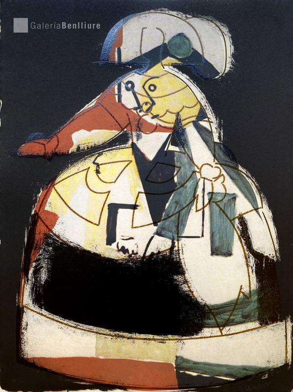 Manolo VALDÉS - Druckgrafik-Multiple - Menina VIII