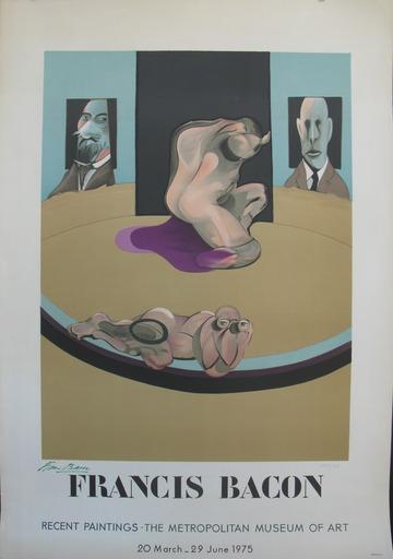 弗朗西斯•培根 - 版画 - Affiche de Metropolitan Museum